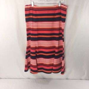 NY Collection Women's Skirt Trumpet NWT Size Large